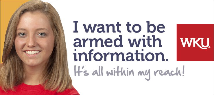 I want to be armed with information.