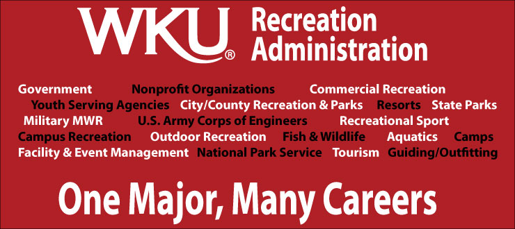Recreation Administration career areas