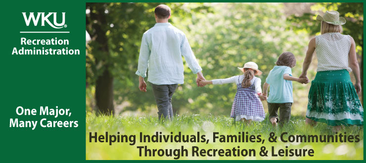 Helping individuals, families, & communities through recreation & leisure