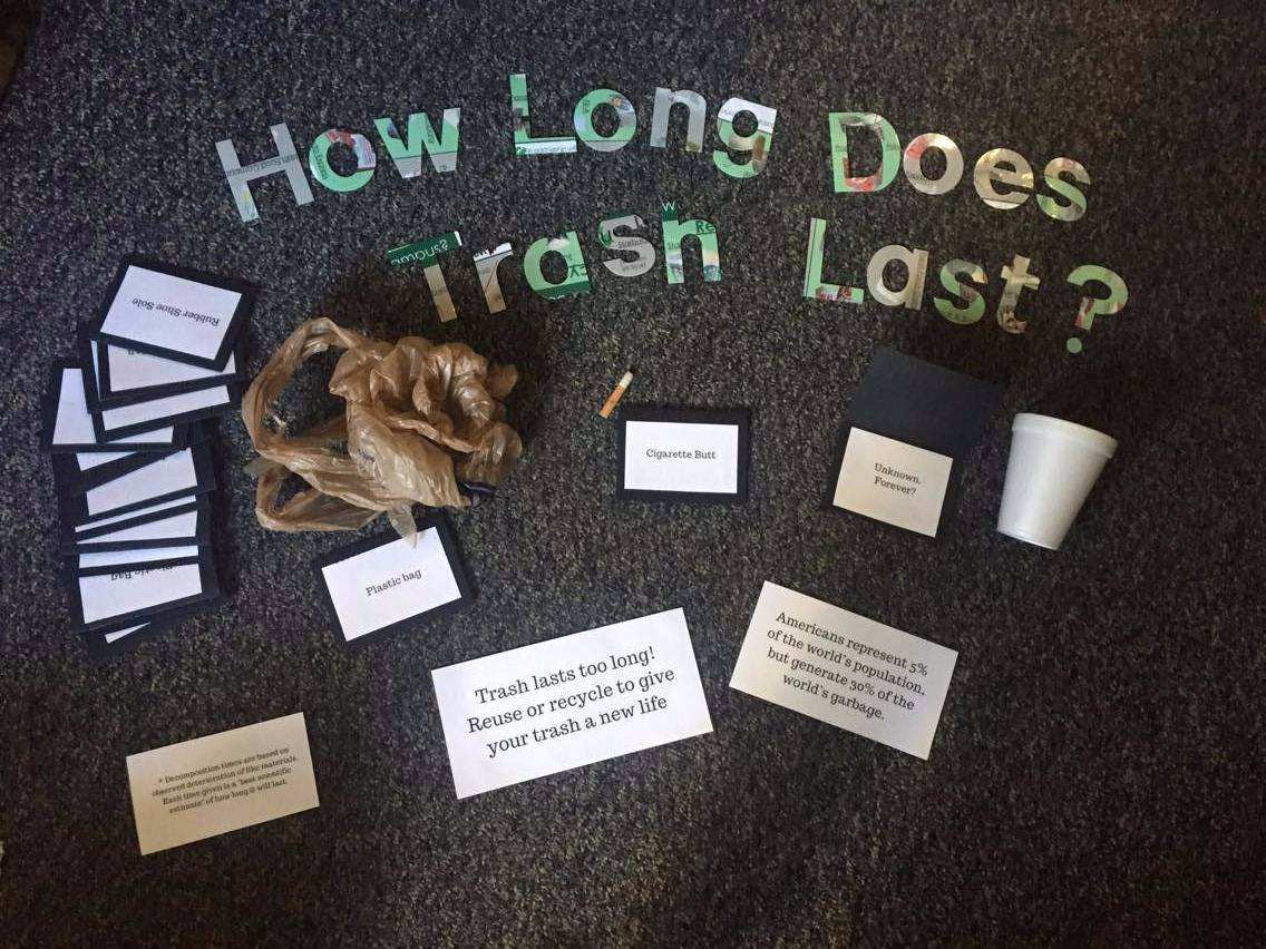 How long does trash last?