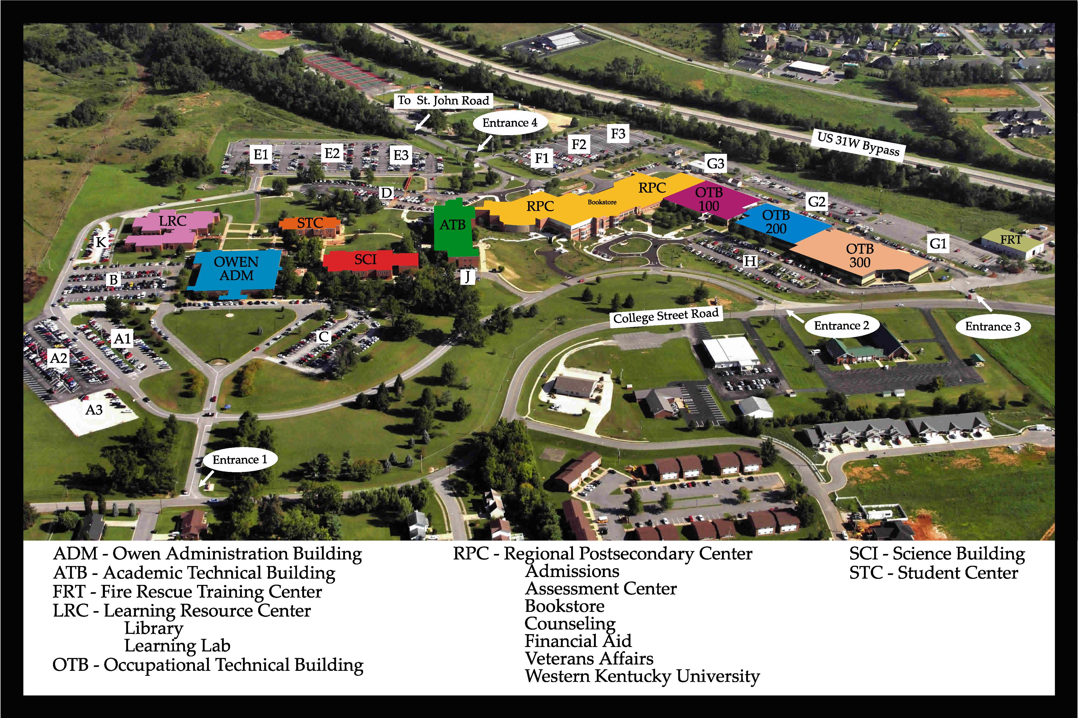 Our Locations Western Kentucky University