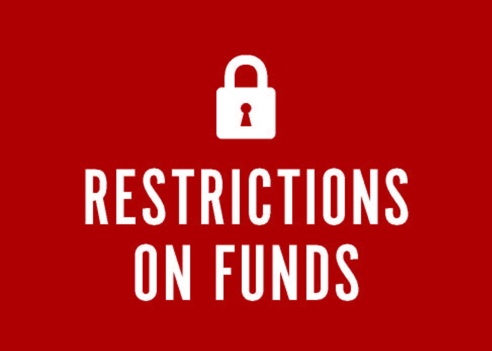 restrictions on funds