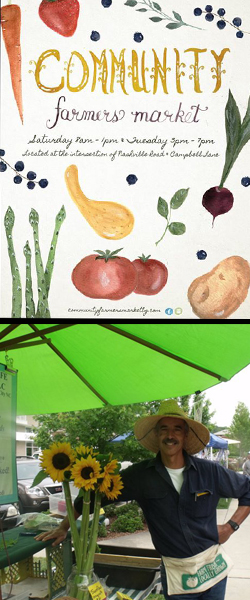 Community Farmers Market artwork & photo