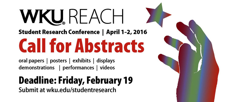 Student Research Conference Call for Abstracts