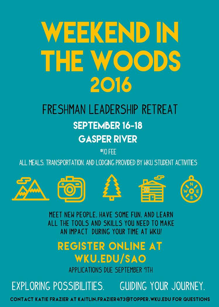 Weekend in the Woods 2016