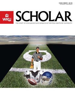 Cover Fall 2008 Scholar Magazine