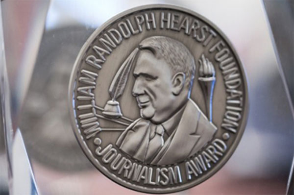 Hearst Award Medallion