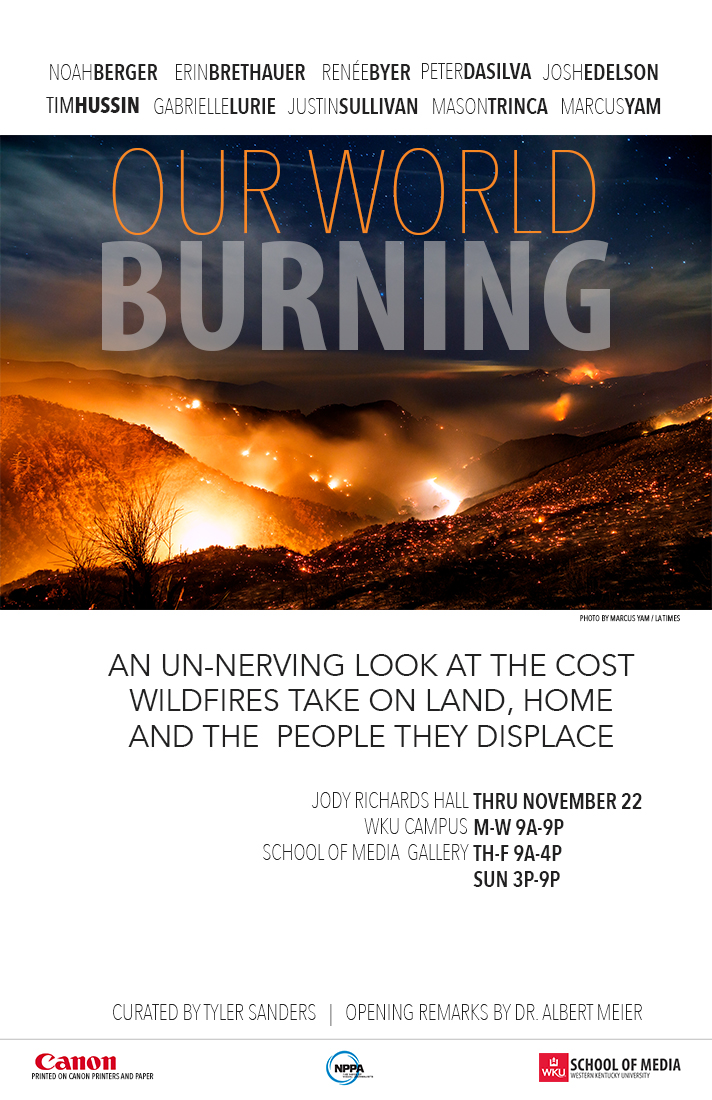 World Burning gallery poster
