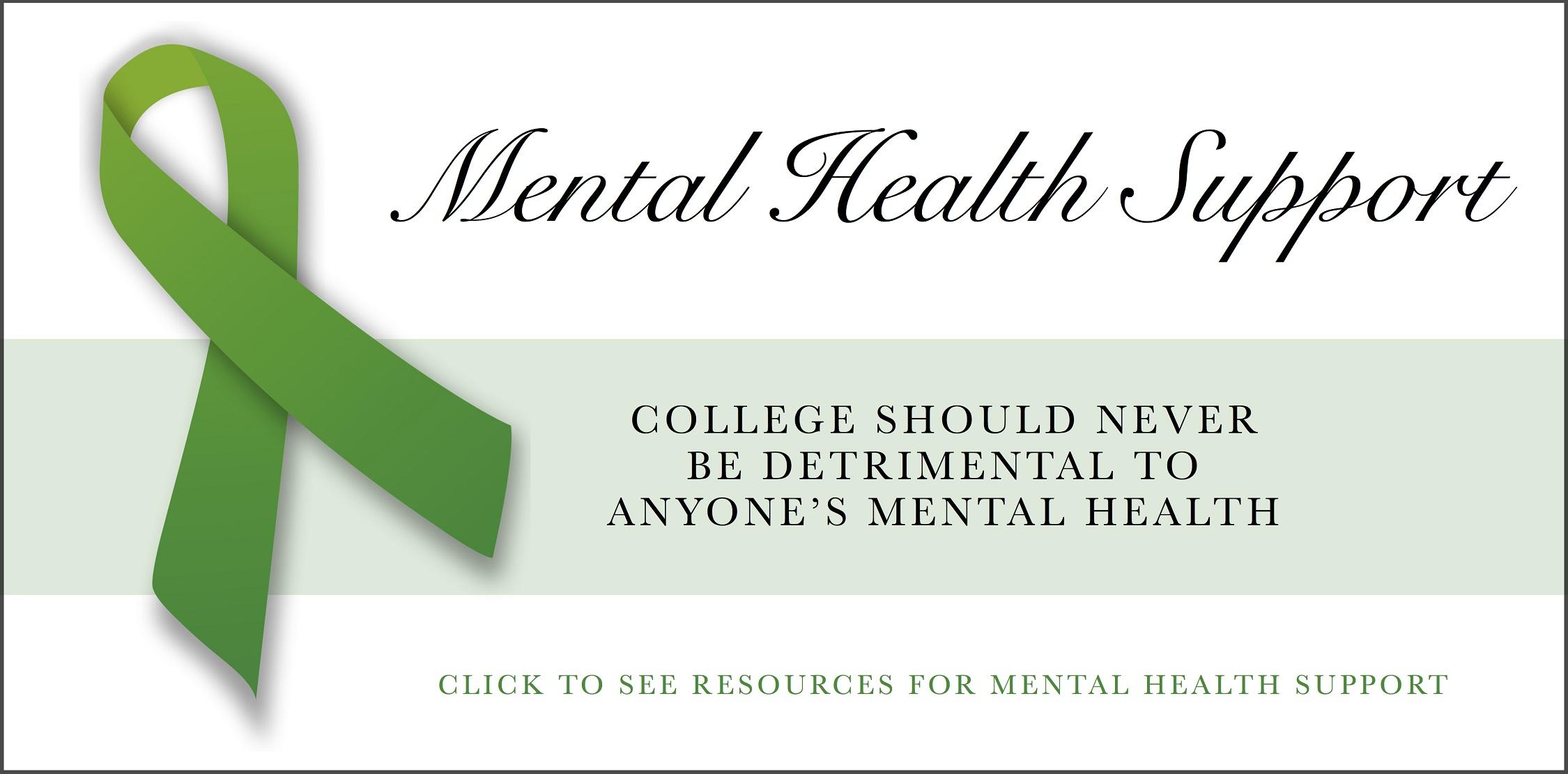 Mental Health Support Western Kentucky University