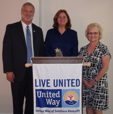 Jan Peeler 2013 Outstanding Volunteer Award for United Way