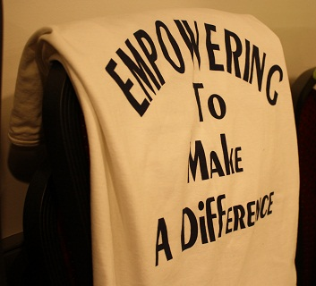 Empowering to make a difference T-shirt