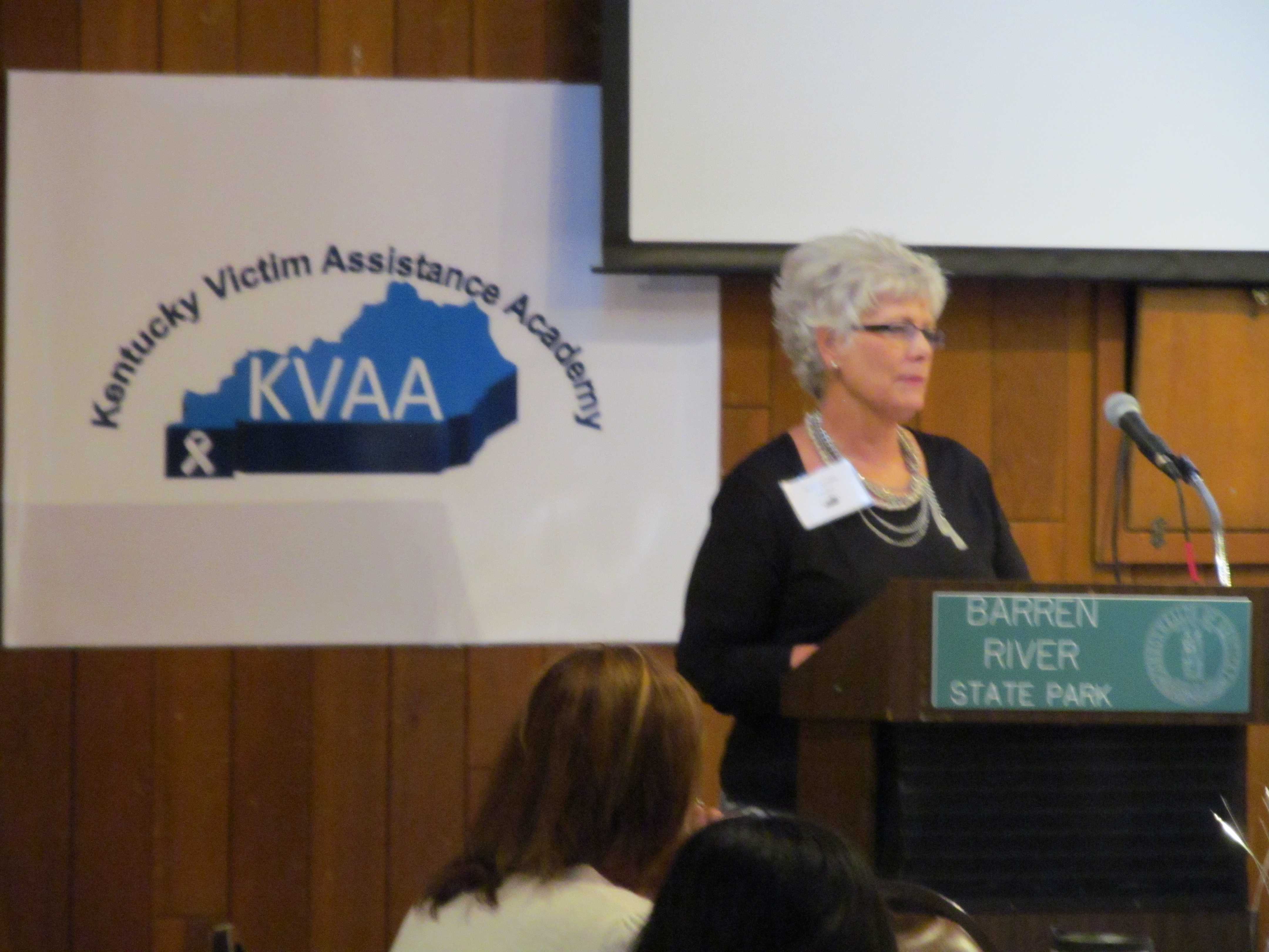 Karolyn Nunnallee, keynote speaker and former President of MADD