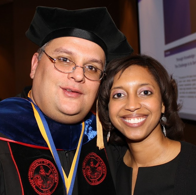 Phi Alpha Dr. Jay Gabbard and Shannon Sales