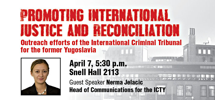 Promoting International Justice and Reconciliation