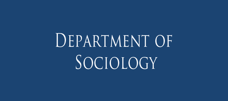 Picture of sociology banner.