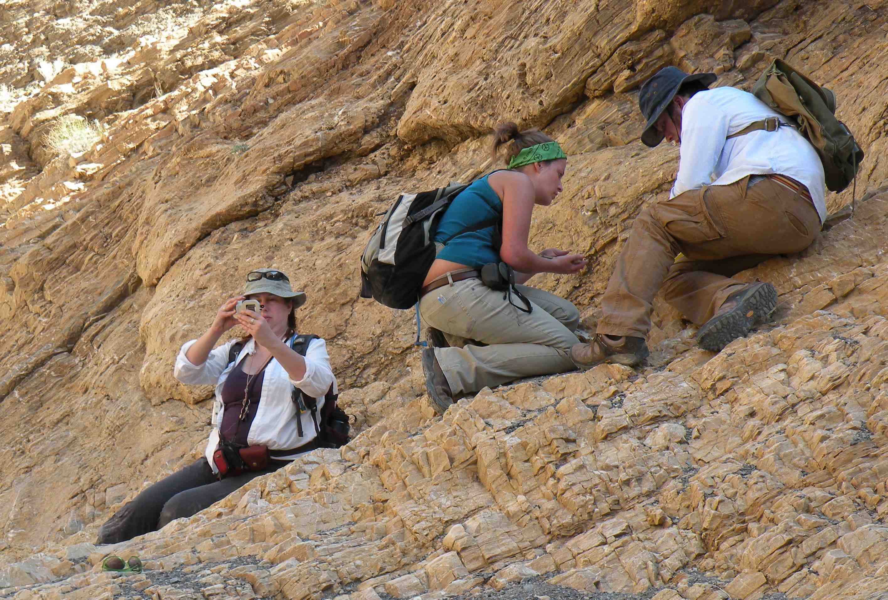 geology students