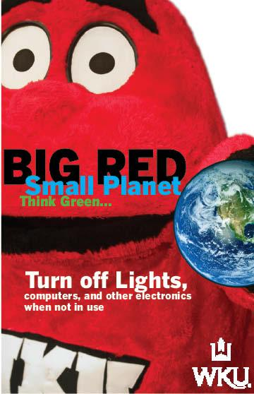 Big Red Think Green
