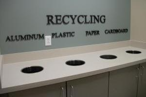 Recycling Area in GAR Hall