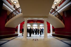 WKU Board of Regents tour GAR Hall