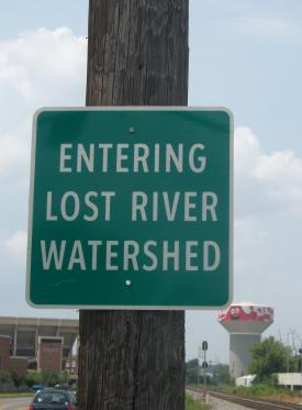 Lost River Watershed Sign