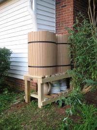 Photo of Finished Barrel that was Donated