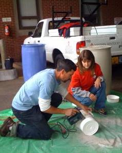 Rainbarrel Workshop 4.16.11