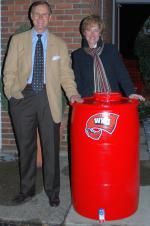 Gary and Julie Ransdell's Rainbarrel