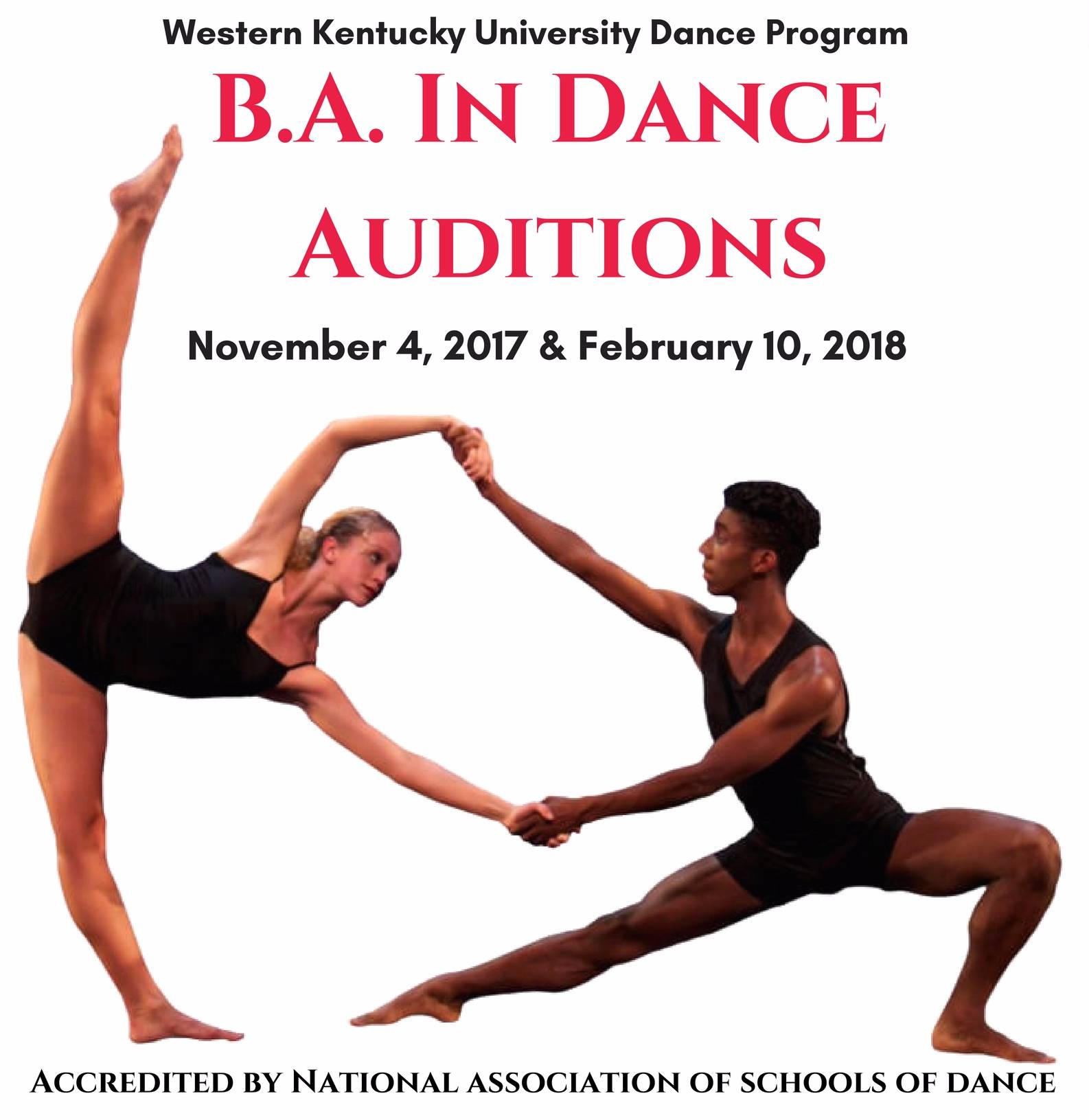 BA in Dance Auditions 2017-18