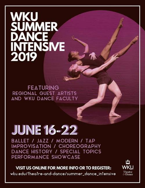 WKU Summer Dance Intensive | Western Kentucky University