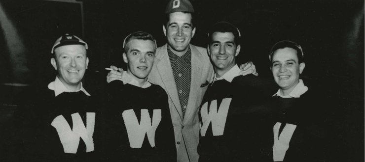 Perry Como hosted The Hilltoppers on his CBS television show on Nov. 14, 1952 & March 5, 1954