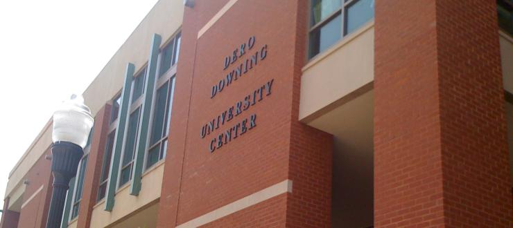 The Learning Center is located in the Downing Student Union.