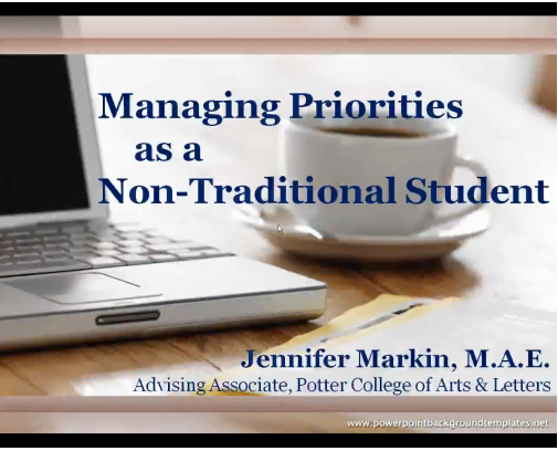 Managing Priorities Video