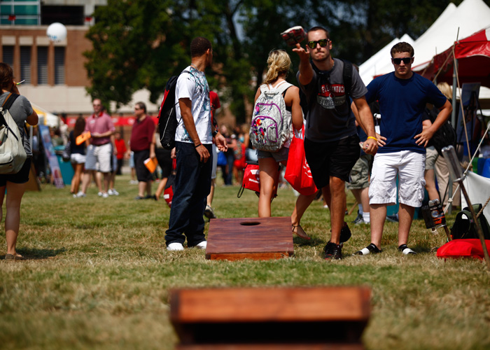 Cornhole on WKU Campus
