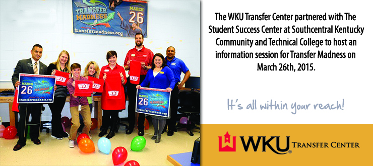 SKYCTC and WKU Partnered to make Transfer Madness a Success!