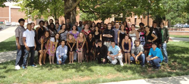 Group of 2011 Upward Bound Students
