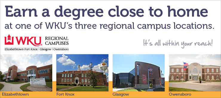 earn a degree from a regional campus