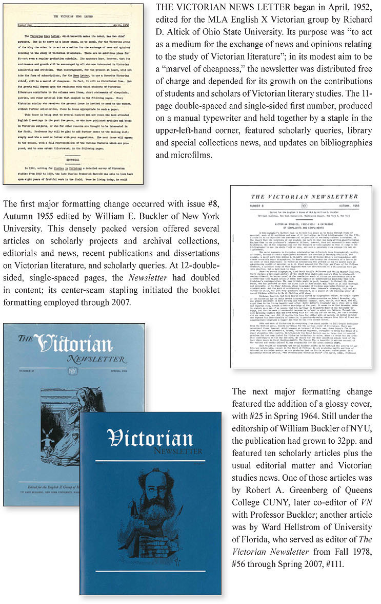 history of victorian newsletter image