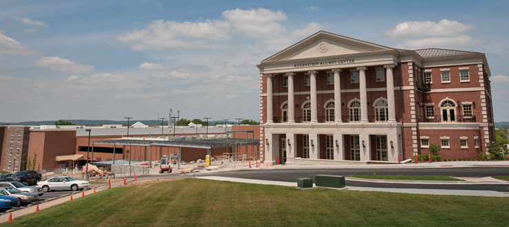 The WKU Welcome Center inside the Augenstein Alumni Center opened on July 1, 2013.