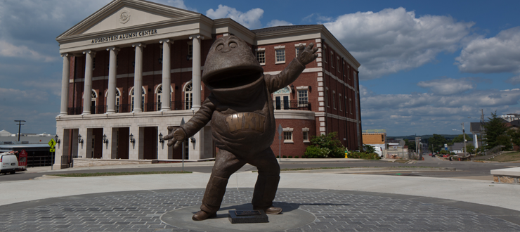 Big Red welcomes you to WKU! Schedule a tour to see our beautiful campus today.