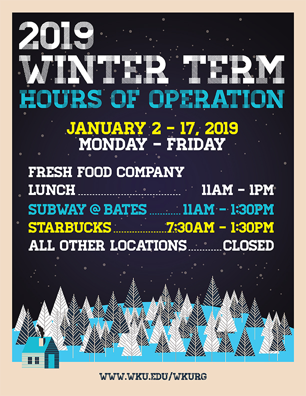 Food Hours of Operation