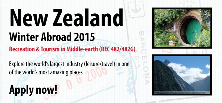 Winter Abroad 2015 - New Zealand