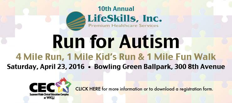 Lifeskills Run for Autism