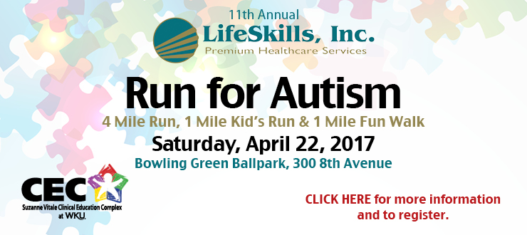 Run For Autism Spring 2017 ad