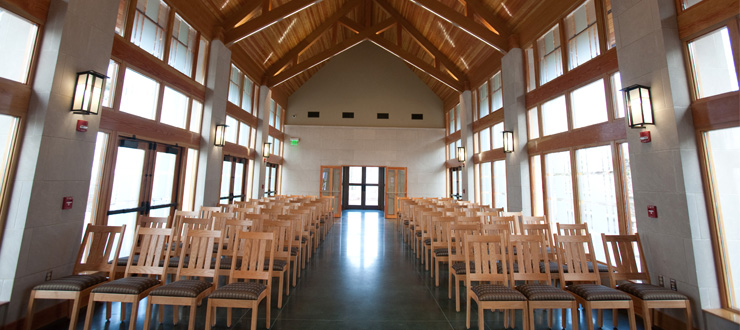 image of Chandler Memorial Chapel Interior