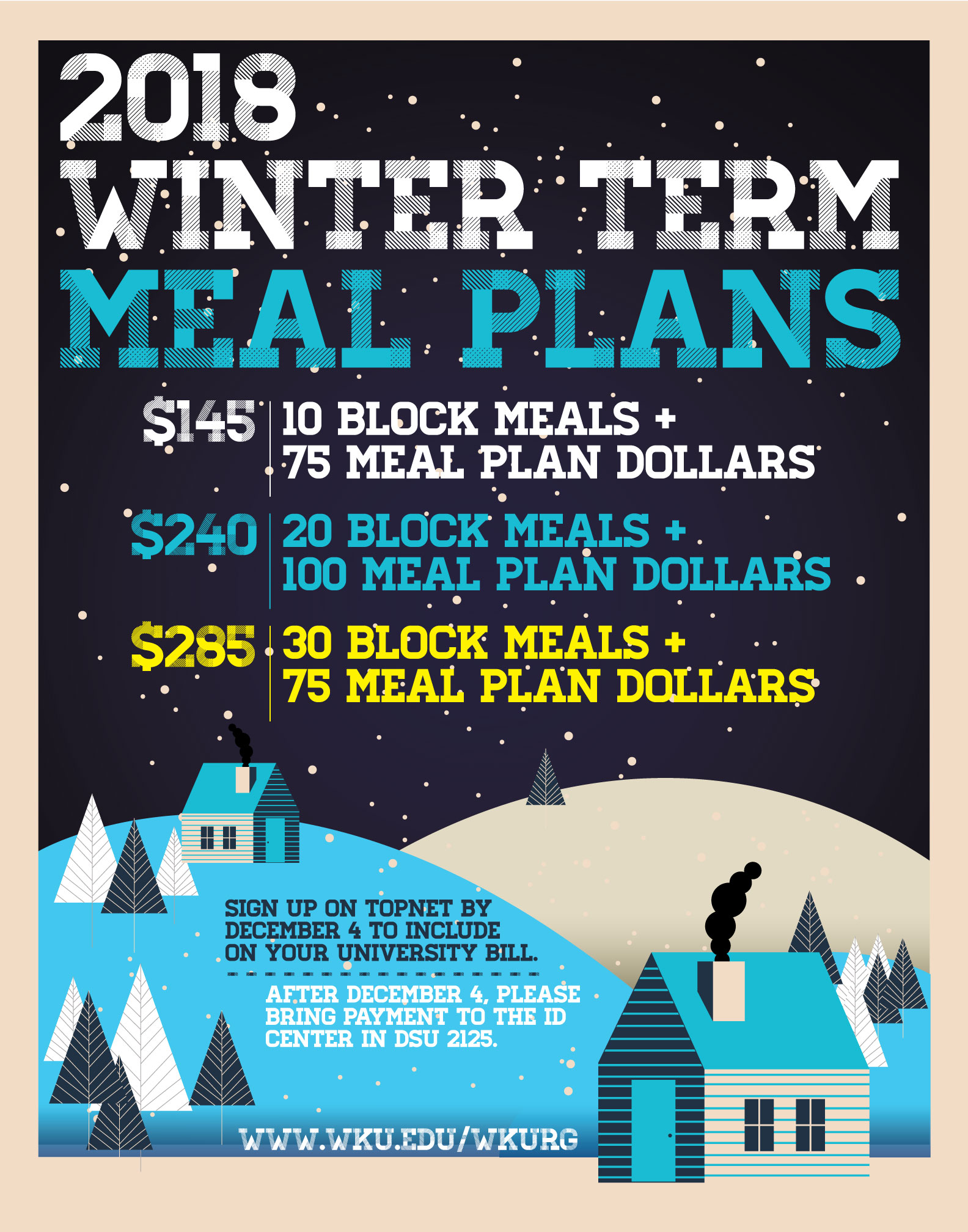 Winter Term Meal Plans