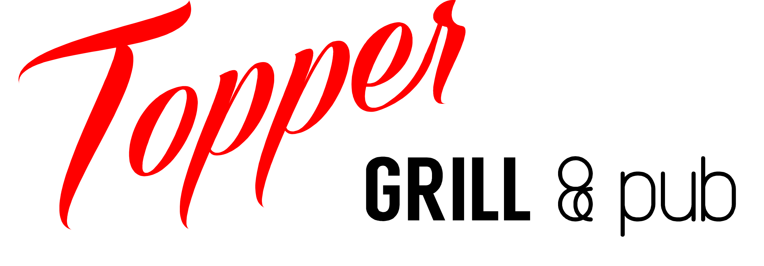 Topper Grill and Pub Logo