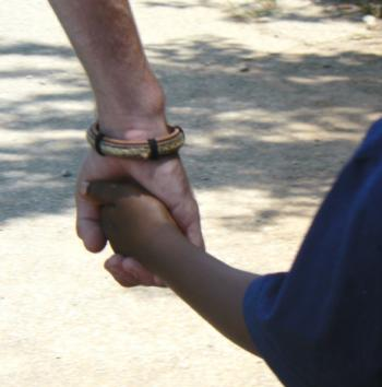 a picture of two holding hands
