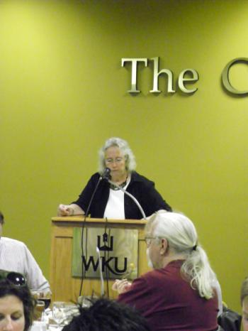 A picture of Jane Olmsted, the director of Gender and Women's Studies