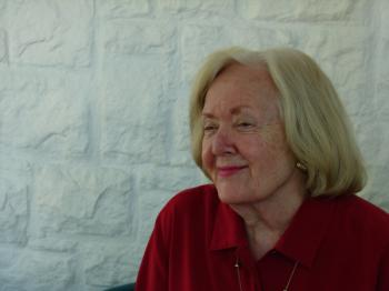 A picture of professor Mary Ellen Miller