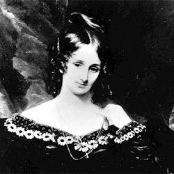 A picture of Mary Shelley